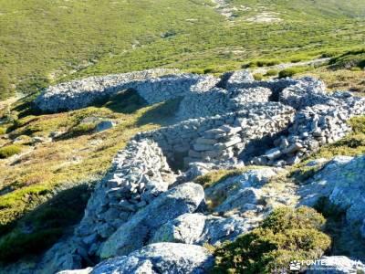 Peña Citores-Cumbres y Lagunas Peñalara; puente chico todo mochilas valle del baztan cancho de los